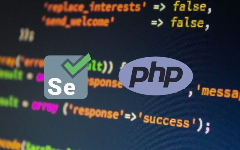 Selenium + PHP шпаргалка по командам